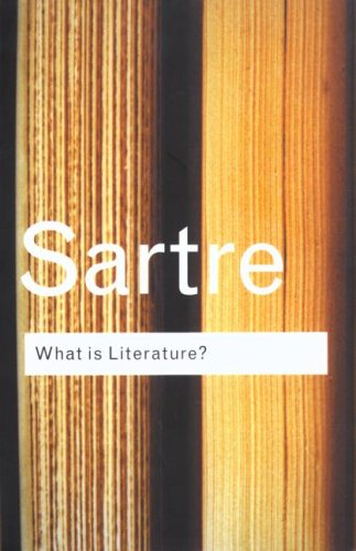 What is Literature? (Routledge Classics) N/A 9780415254045 Front Cover