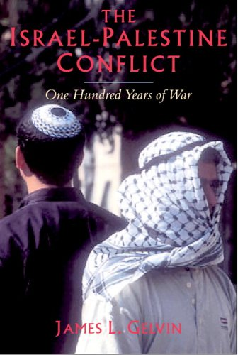Israel-Palestine Conflict One Hundred Years of War  2005 edition cover
