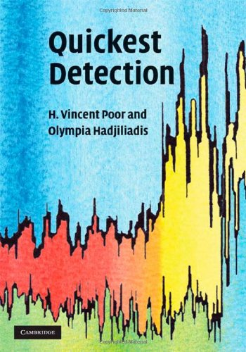 Quickest Detection   2008 9780521621045 Front Cover