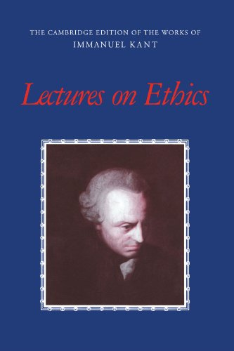 Lectures on Ethics   2001 edition cover