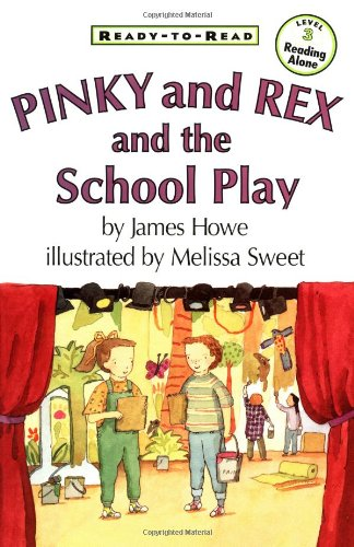Pinky and Rex and the School Play   1998 edition cover