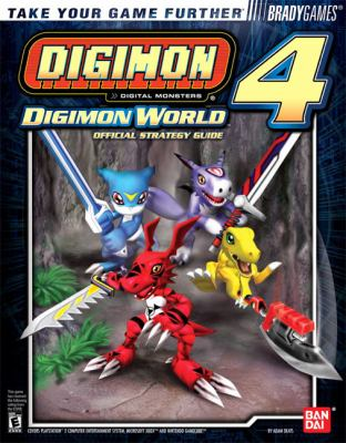 Digimon World 4   2005 9780744004045 Front Cover