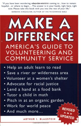 Make a Difference America's Guide to Volunteering and Community Service 2nd 2003 (Revised) edition cover
