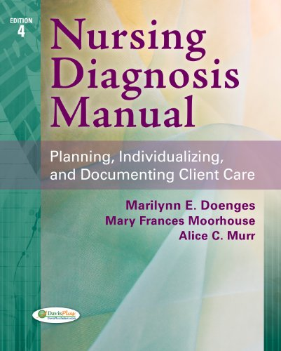 Nursing Diagnosis Manual Planning, Individualizing, and Documenting Client Care 4th 2013 (Revised) edition cover