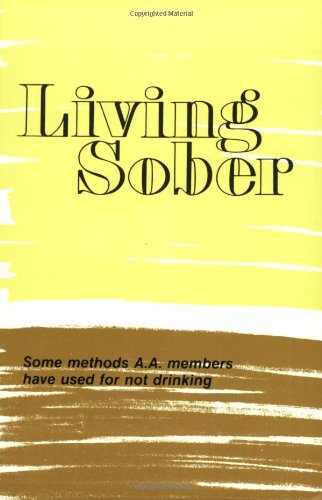 Living Sober   1976 edition cover