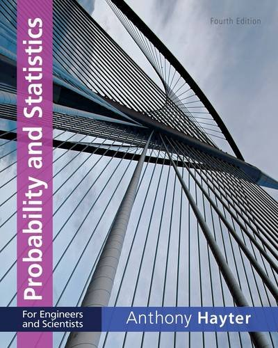 Probability and Statistics for Engineers and Scientists  4th 2013 edition cover