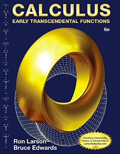 Early Transcendental Functions + Enhanced Webassign Printed Access Card for Calculus, Multi-term Courses:   2015 9781305714045 Front Cover