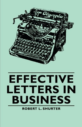 Effective Letters in Business:   2007 9781406765045 Front Cover