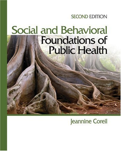 Social and Behavioral Foundations of Public Health  2nd 2009 edition cover