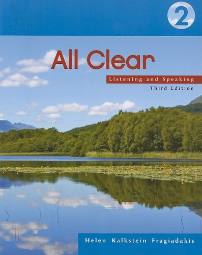 All Clear 2 Listening and Speaking 3rd 2007 edition cover