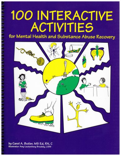 100 Interactive Activities : For Mental Health and Substance Abuse Recovery 1st edition cover