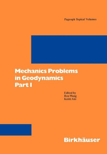 Mechanics Problems in Geodynamics   1995 9783764351045 Front Cover