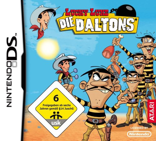 Lucky Luke - Die Daltons Nintendo DS artwork