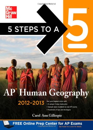 AP Human Geography 2012-2013   2012 9780071752046 Front Cover