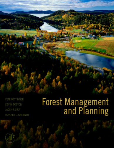 Forest Management and Planning   2008 edition cover