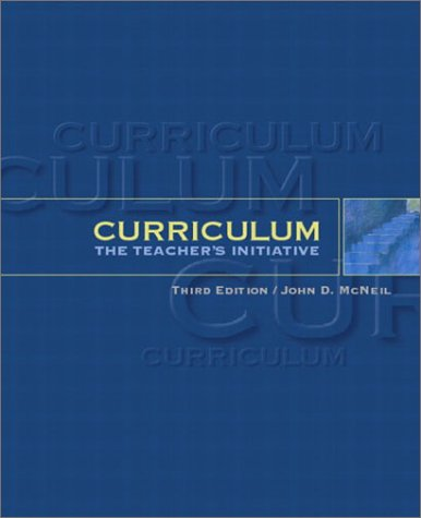 Curriculum The Teacher's Initiative 3rd 2003 (Revised) edition cover