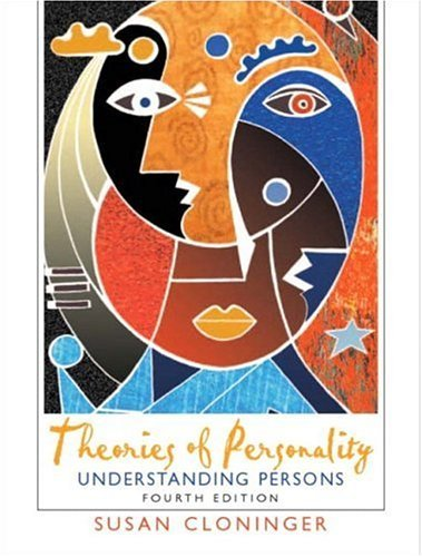 Theories of Personality Understanding Persons 4th 2004 (Revised) edition cover