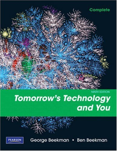 Tomorrow's Technology and You, Complete  9th 2010 edition cover