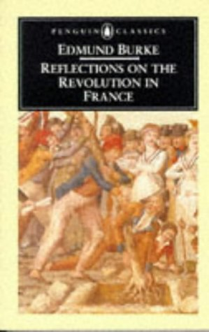 Reflections on the Revolution in France   2003 edition cover