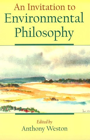 Invitation to Environmental Philosophy   1999 edition cover