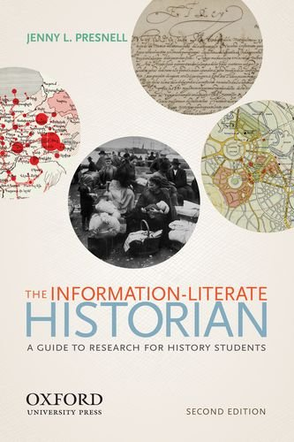 Information-Literate Historian  2nd 2012 edition cover