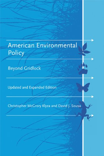 American Environmental Policy Beyond Gridlock  2013 (Enlarged) edition cover