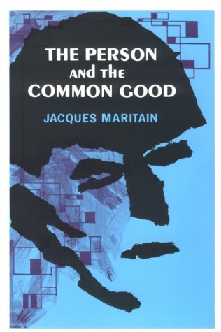 Person and the Common Good  N/A edition cover