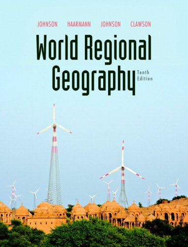 World Regional Geography  10th 2010 edition cover