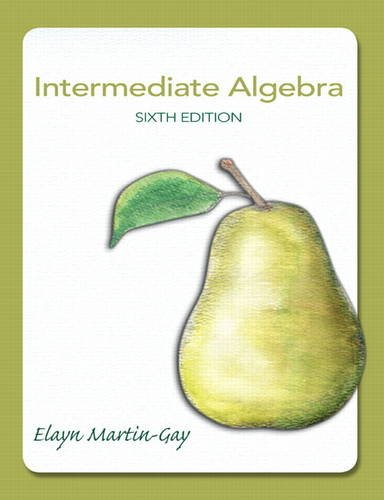 Intermediate Algebra  6th 2013 (Revised) 9780321785046 Front Cover