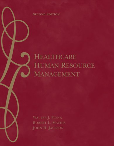 Healthcare Human Resource Management  2nd 2007 (Revised) edition cover