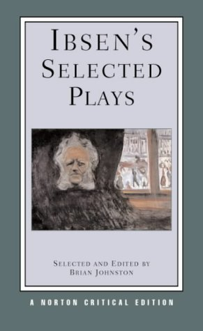 Ibsen's Selected Plays   2003 edition cover