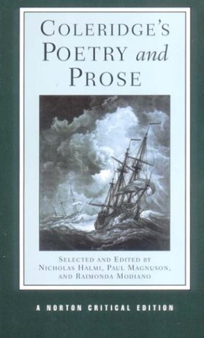 Coleridge's Poetry and Prose   2002 edition cover