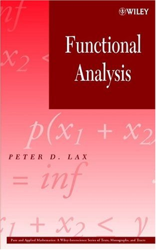 Functional Analysis   2002 edition cover