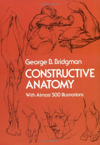 Constructive Anatomy  Reprint  edition cover