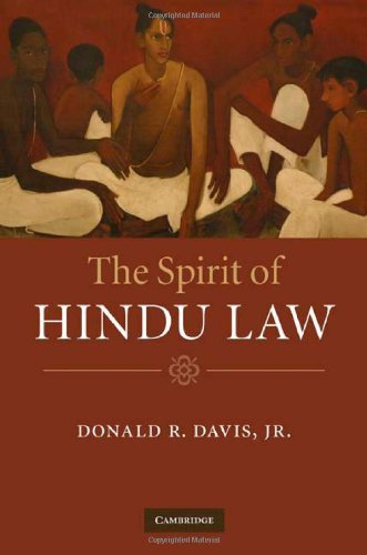 Spirit of Hindu Law   2010 9780521877046 Front Cover