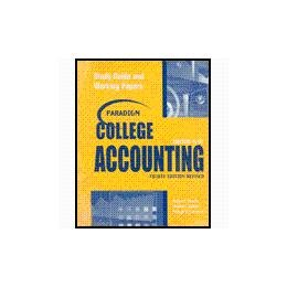 Paradigm College Accounting 4th 2004 9780763820046 Front Cover