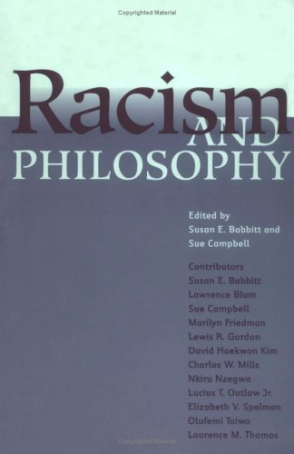 Racism and Philosophy   1999 9780801485046 Front Cover