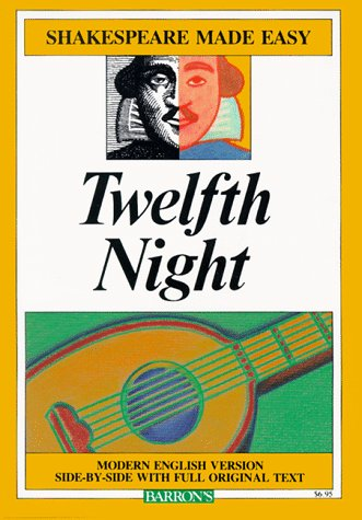 Twelfth Night Or, What You Will  1996 edition cover