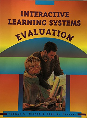 Interactive Learning Systems Evaluation 1st 2003 edition cover