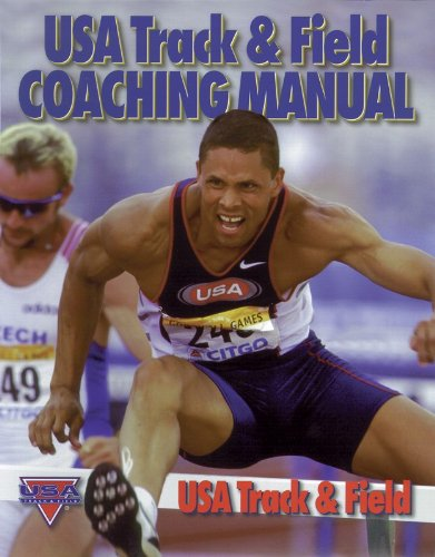 USA Track and Field Coaching Manual   2000 9780880116046 Front Cover