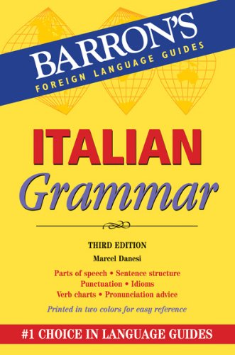 Italian Grammar  3rd 2012 (Revised) edition cover