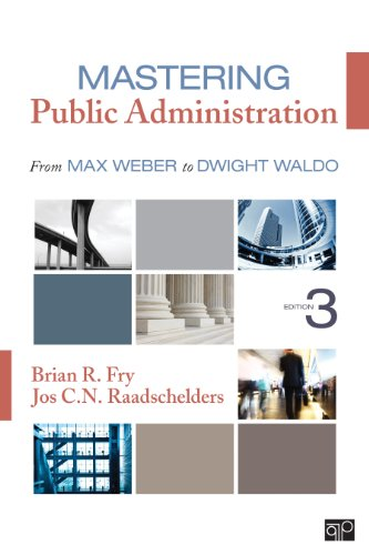 Mastering Public Administration From Max Weber to Dwight Waldo 3rd 2014 edition cover