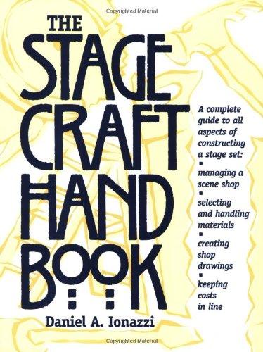 Stagecraft Handbook   1996 edition cover