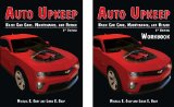 Auto Upkeep Basic Car Care, Maintenance, and Repair (Paperback Text and Paperback Workbook Set) 3rd edition cover