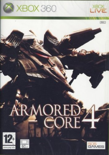 Armored Core 4 (Xbox 360) Xbox 360 artwork
