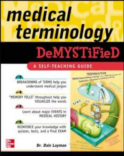 Medical Terminology Demystified   2006 edition cover