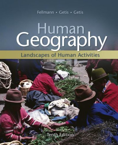 Human Geography  10th 2008 edition cover