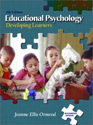 Educational Psychology Developing Learners 4th 2003 edition cover
