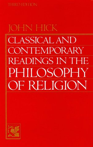 Classical and Contemporary Readings in Philosophy of Religion  3rd 1990 edition cover