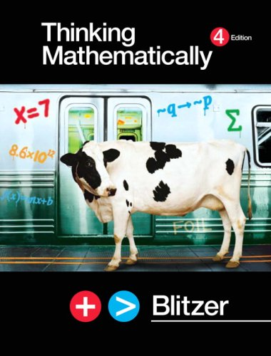 Thinking Mathematically  4th 2008 (Revised) edition cover